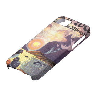 Vintage Travel, Norway Fjord Land of Midnight Sun iPhone 5 Cover