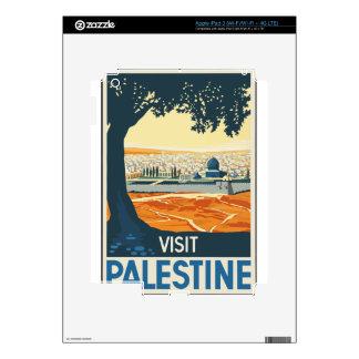 Vintage Travel Palestine iPad 3 Decal