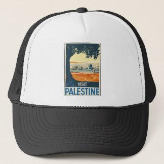 Vintage Travel Palestine Trucker Hat