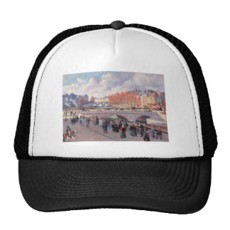 Vintage Travel Pont Saint-Michel Paris Hats