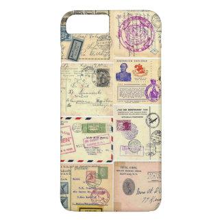 Vintage Travel Postcards iPhone 8 Plus/7 Plus Case