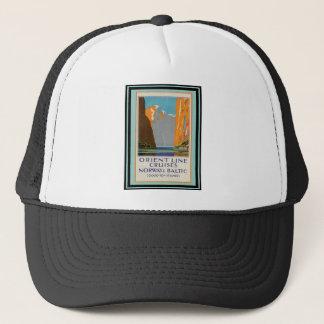 Vintage Travel Poster 11 Trucker Hat