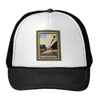 Vintage Travel Poster 13 Trucker Hat