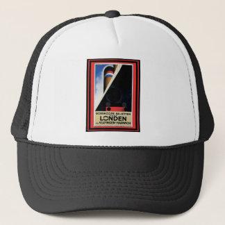 Vintage Travel Poster 15 Trucker Hat