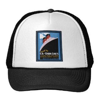 Vintage Travel Poster 17 Trucker Hat
