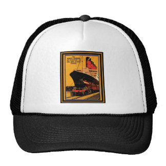 Vintage Travel Poster 19 Trucker Hat