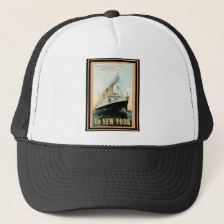 Vintage Travel Poster 21 Trucker Hat