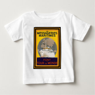 Vintage Travel Poster 22 Baby T-Shirt