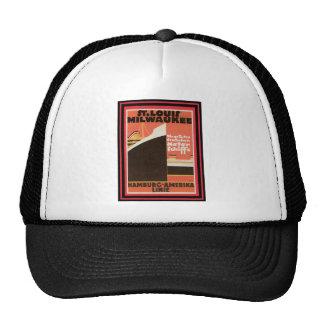 Vintage Travel Poster 23 Trucker Hat