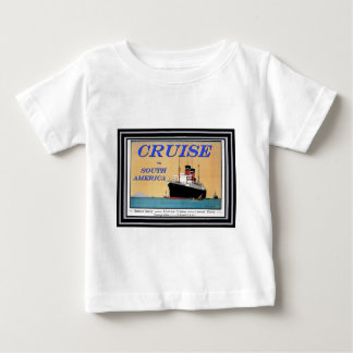 Vintage Travel Poster 26 Baby T-Shirt
