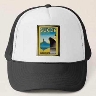 Vintage Travel Poster 28 Trucker Hat