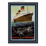 Vintage Travel Poster 2 Card