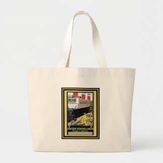 Vintage Travel Poster 30 Tote Bags