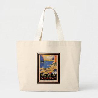 Vintage Travel Poster 34 Canvas Bag