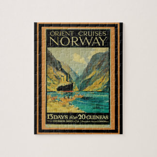 Vintage Travel Poster 37 Jigsaw Puzzle