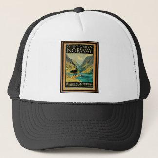 Vintage Travel Poster 37 Trucker Hat