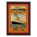 Vintage Travel Poster 49 Card