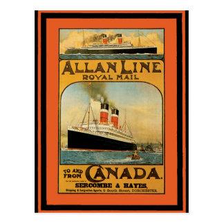 Vintage Travel Poster 49 Postcard