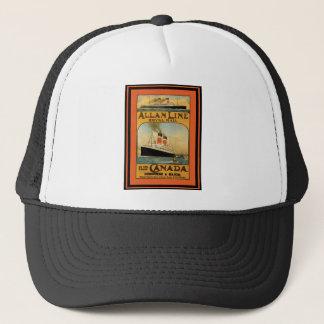 Vintage Travel Poster 49 Trucker Hat