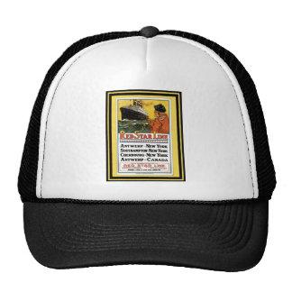 Vintage Travel Poster 55 Trucker Hat