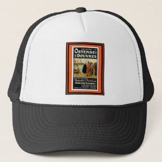 Vintage Travel Poster 57 Trucker Hat