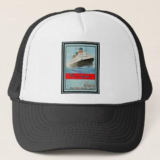 Vintage Travel Poster 58 Trucker Hat