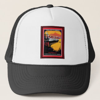 Vintage Travel Poster 59 Trucker Hat