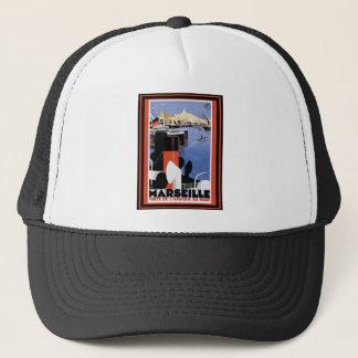 Vintage Travel Poster 60 Trucker Hat
