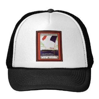 Vintage Travel Poster 62 Trucker Hat