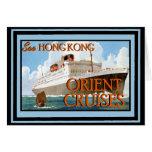 Vintage Travel Poster 66 Card