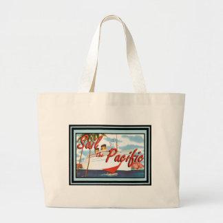 Vintage Travel Poster 67 Canvas Bag