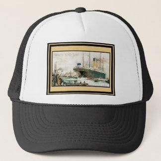 Vintage Travel Poster 68 Trucker Hat