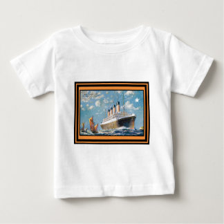 Vintage Travel Poster 69 Baby T-Shirt