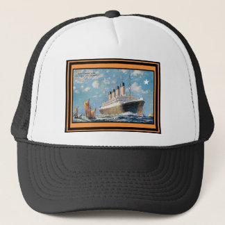Vintage Travel Poster 69 Trucker Hat