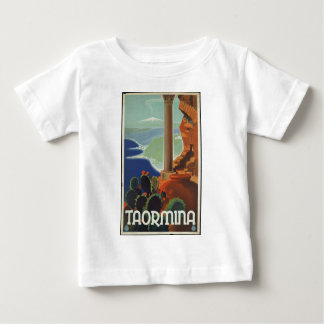 Vintage Travel Poster Ad Retro Prints Baby T-Shirt