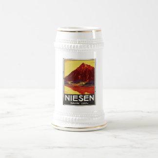Vintage Travel Poster Ad Retro Prints Beer Stein