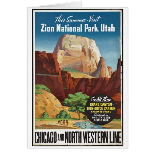 Vintage Travel Poster Ad Retro Prints Card