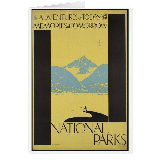 Vintage Travel Poster Ad Retro Prints Card