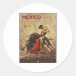 Vintage Travel Poster Ad Retro Prints Sticker