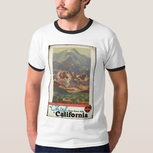 Vintage Travel Poster Ad Retro Prints T Shirts