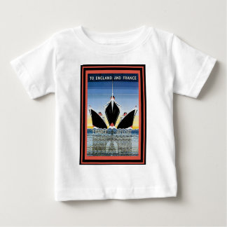 Vintage Travel Poster Baby T-Shirt