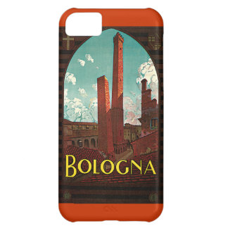 Vintage Travel Poster, Bologna, Italy iPhone 5C Case