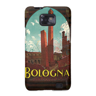 Vintage Travel Poster, Bologna, Italy Samsung Galaxy S Case