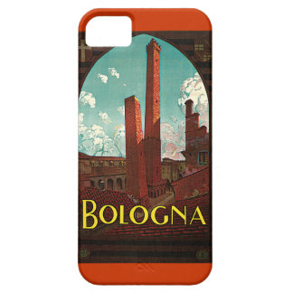 Vintage Travel Poster, Bologna, Italy iPhone 5 Covers