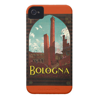 Vintage Travel Poster, Bologna, Italy iPhone 4 Cover