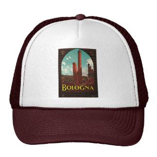 Vintage Travel Poster, Bologna, Italy Trucker Hat