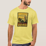 Vintage Travel Poster: Brazil South Atlantic T-Shirt