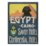 Vintage Travel Poster - Cairo Egypt