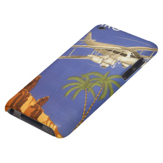 Vintage Travel Poster Cairo Egypt Africa Airplane Barely There iPod Covers