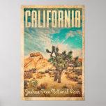 Vintage Travel Poster California